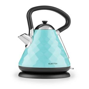 Curacao Azure Kettle Whistling Kettle 2200 W 1.7l Stainless Steel blue