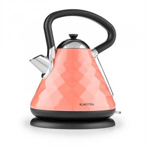 Curacao Coral Kettle Whistling Kettle 2200 W 1.7l Stainless Steel coral