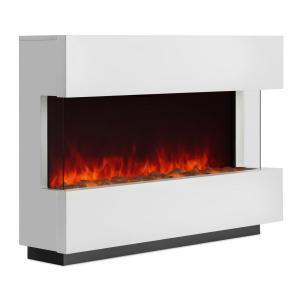 Studio-1 Electric Fireplace LED Flame Simulation 750/1500 W 40m² White