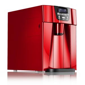 Ice Volcano 2GR Ice Cube Machine LED 12kg every 24h 2l 6-10min Red Red