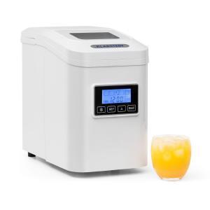 Lannister Ice Cube Maker Ice Cube Machine 10 kg / 24 h White Black