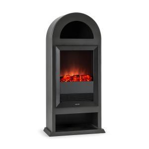 Blockhouse Electric Fireplace Freestanding 2000 Watts Black