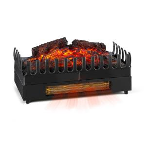 Kamini FX Electric Fireplace Fireplace Insert 1000/2000W 2W LED black
