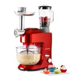 Lucia Rossa 2G Stand Mixer Blender Meat Grinder 1200W BPA-free Red