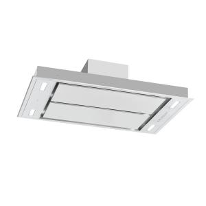 Secret Service Cooker Extractor Hood 220W 3 Power Levels LED Stainless Steel Silver