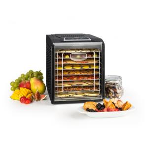 Fruit Jerky 9 Automatic Dehydrator Timer 9 Shelves 600-700W Black 9 stages