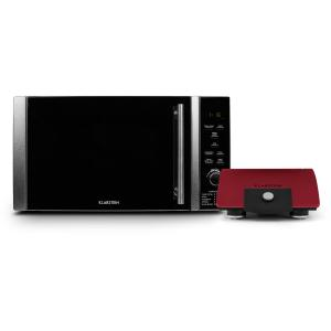 Luminance Prime Microwave Buddy Set Microwave + Grill Heating Plates