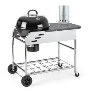 Meatpacker Set XXL Charcoal BBQ Smoker & Electric Igniter