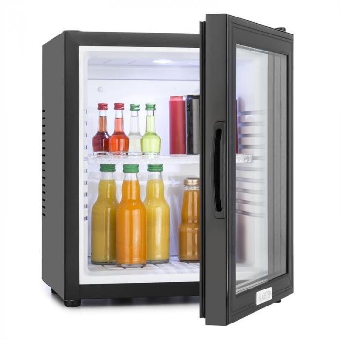 mks 12 mini bar fridge 24 litre black klarstein