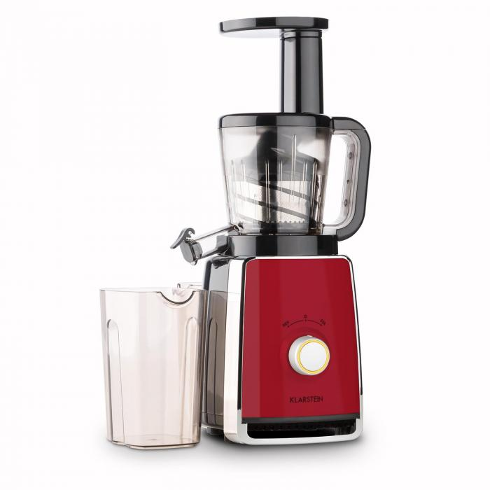 Klarstein Fruit Berry Slow Juicer Review : Sweetheart Juicers Slow Juicer 150W 32RPM red Red Klarstein
