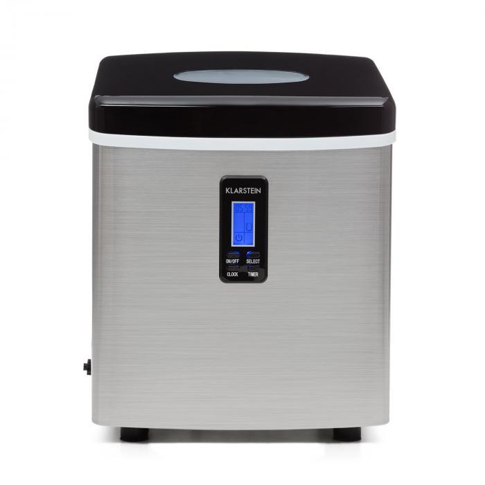mr black frost ice maker 150w stainless steel black klarstein. Black Bedroom Furniture Sets. Home Design Ideas