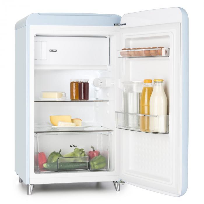 Popart Blue Retro Refrigerator A 108 L 13 L Freezer