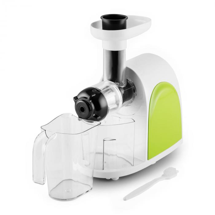 Klarstein Slow Juicer Bedienungsanleitung : Slow Juicer 150W 80rpm Green / White Klarstein