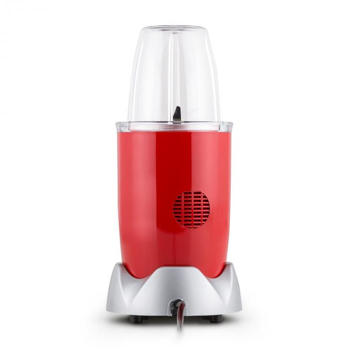 nutrirocket mixer smoothie maker multifunction 10 pcs 700w red red klarstein. Black Bedroom Furniture Sets. Home Design Ideas